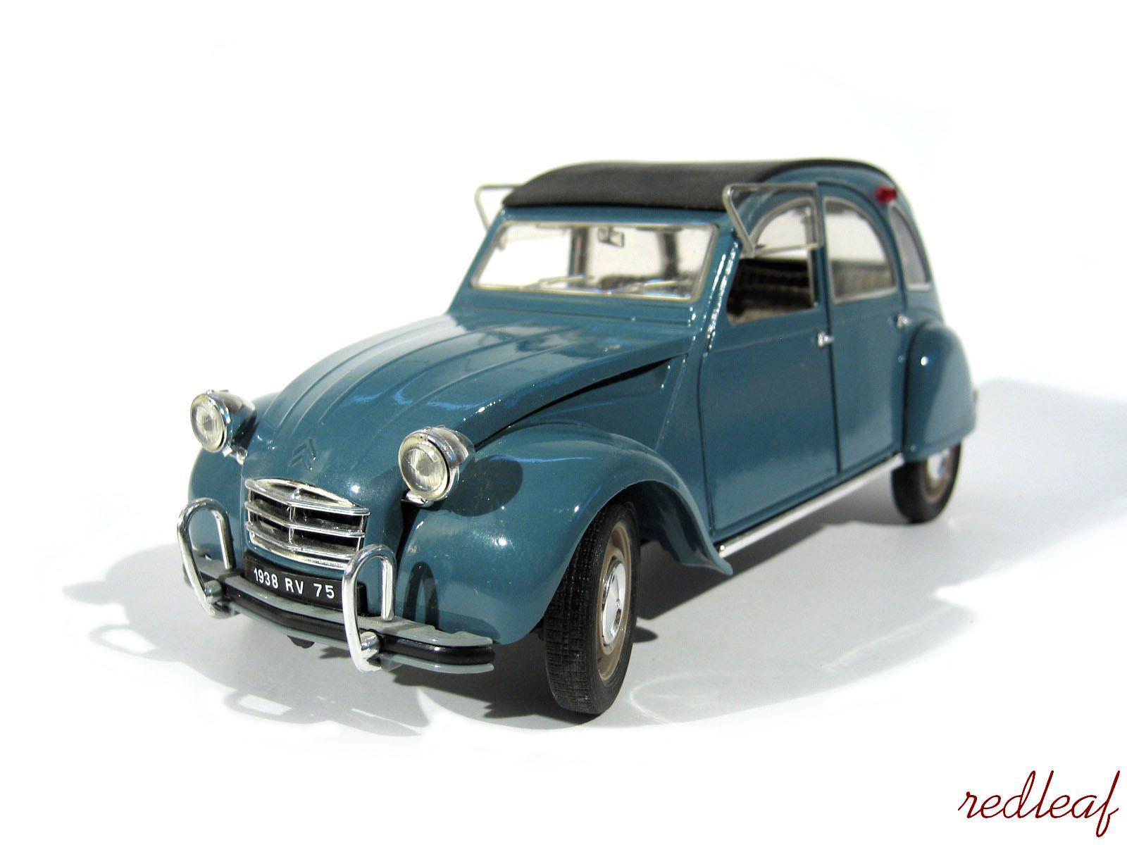 citroen 2cv miniature